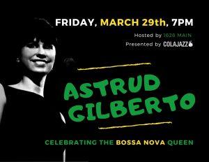 Celebrating Astrud Gilberto Mark Rapp ColaJazz