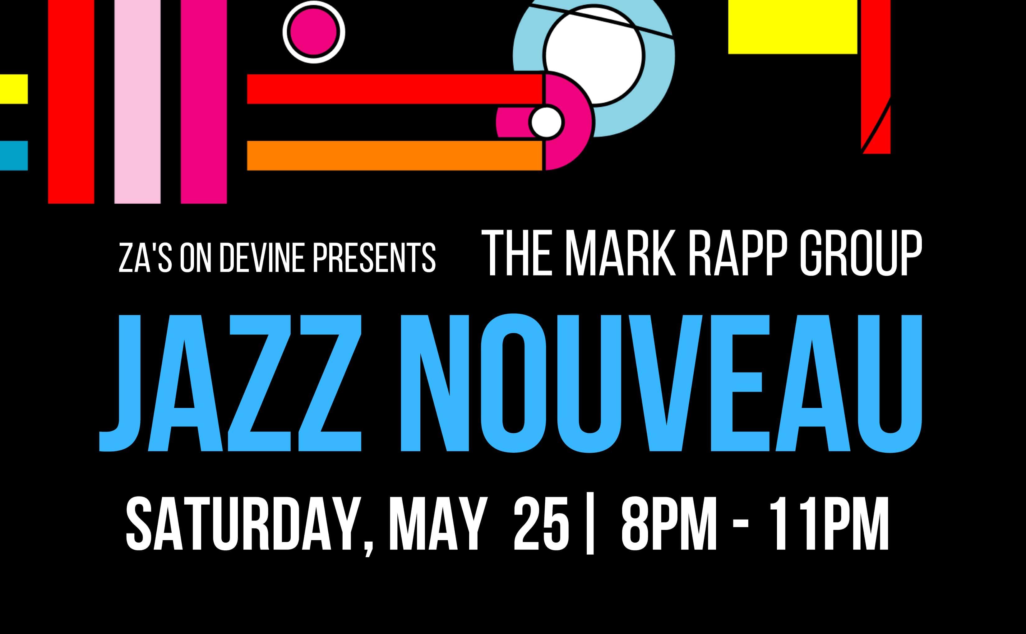 Jazz at Za's on Devine, Mark Rapp