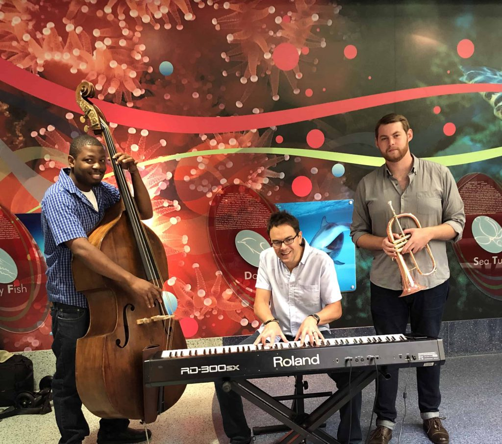 SC jazz artists play for ColaJazz Outreach
