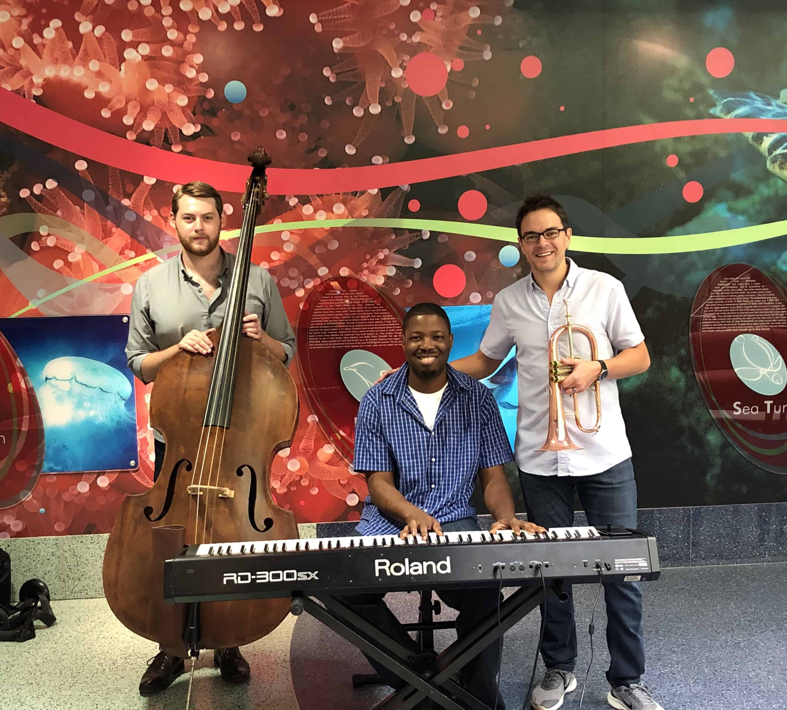 SC Jazz Musicians Play for Children