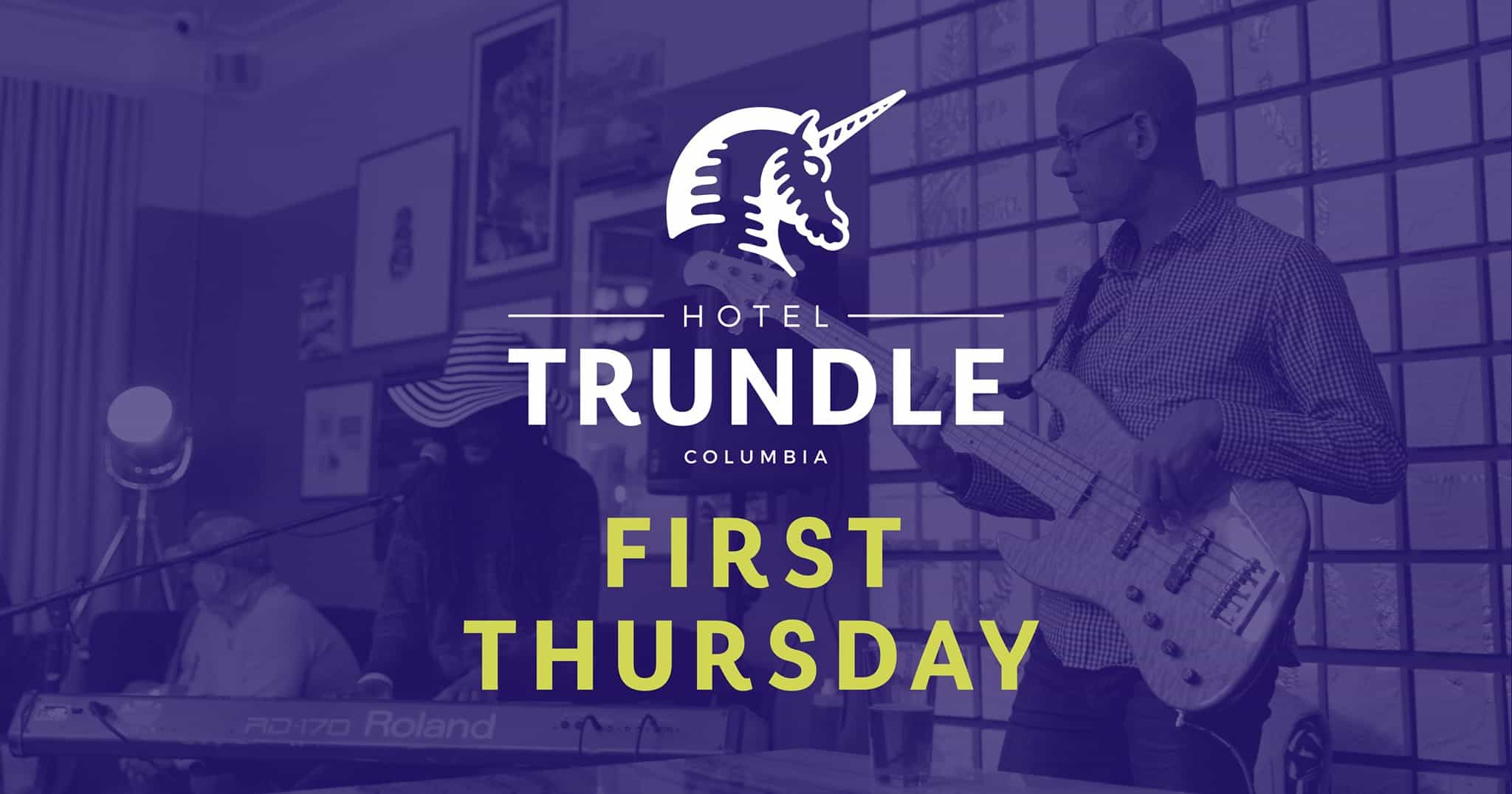 First Thursday on Main at Hotel Trundle