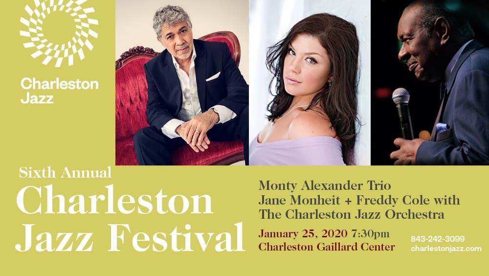 Monty Alexander Trio, Jane Monheit, Freddy Cole, YOUR CJO!
