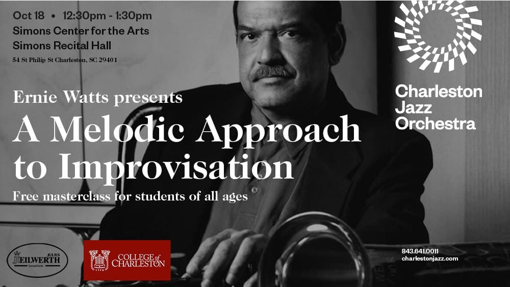 Free Masterclass with two-time Grammy winner Ernie Watts