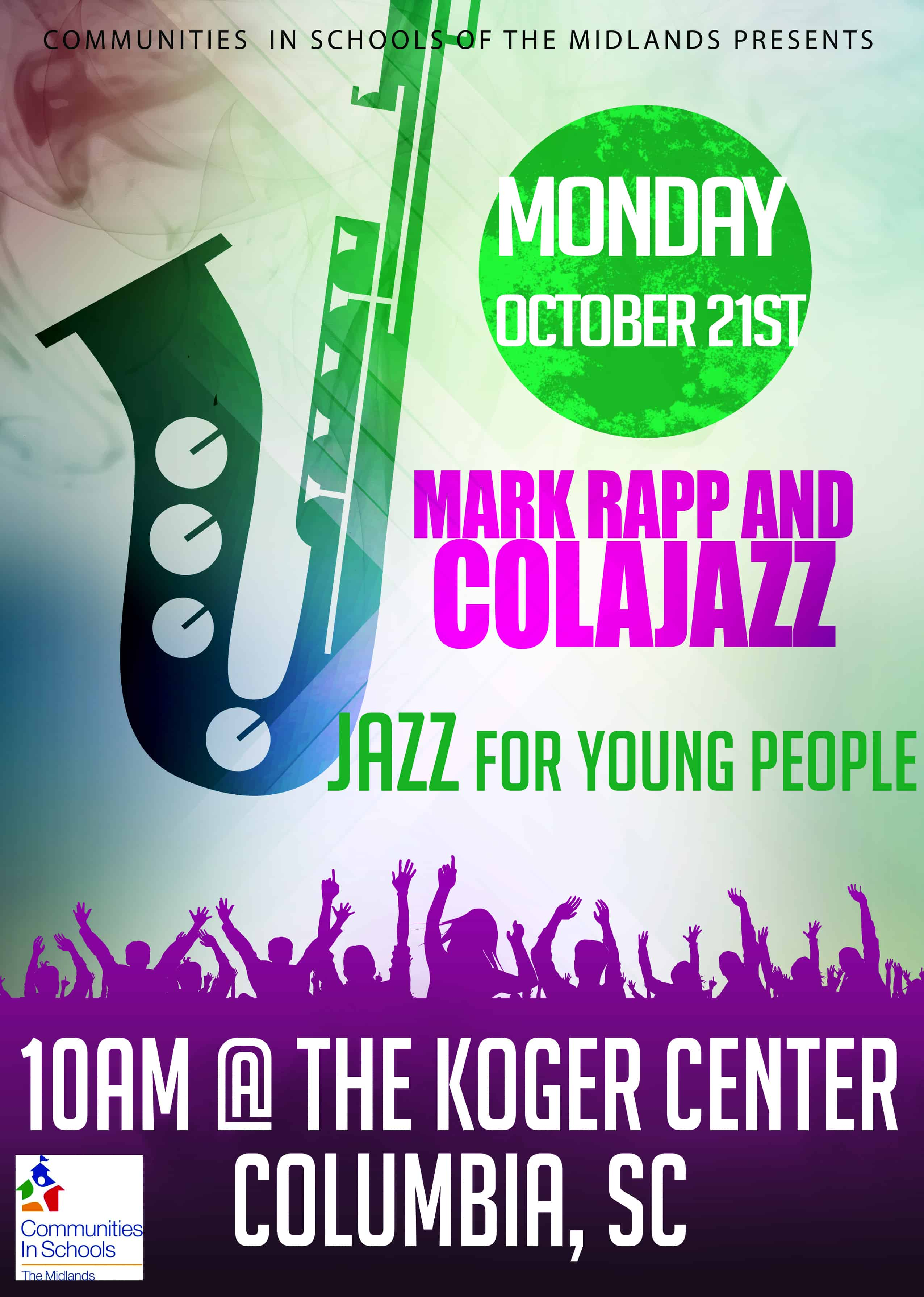 ColaJazz Koger Center Jazz for Young People