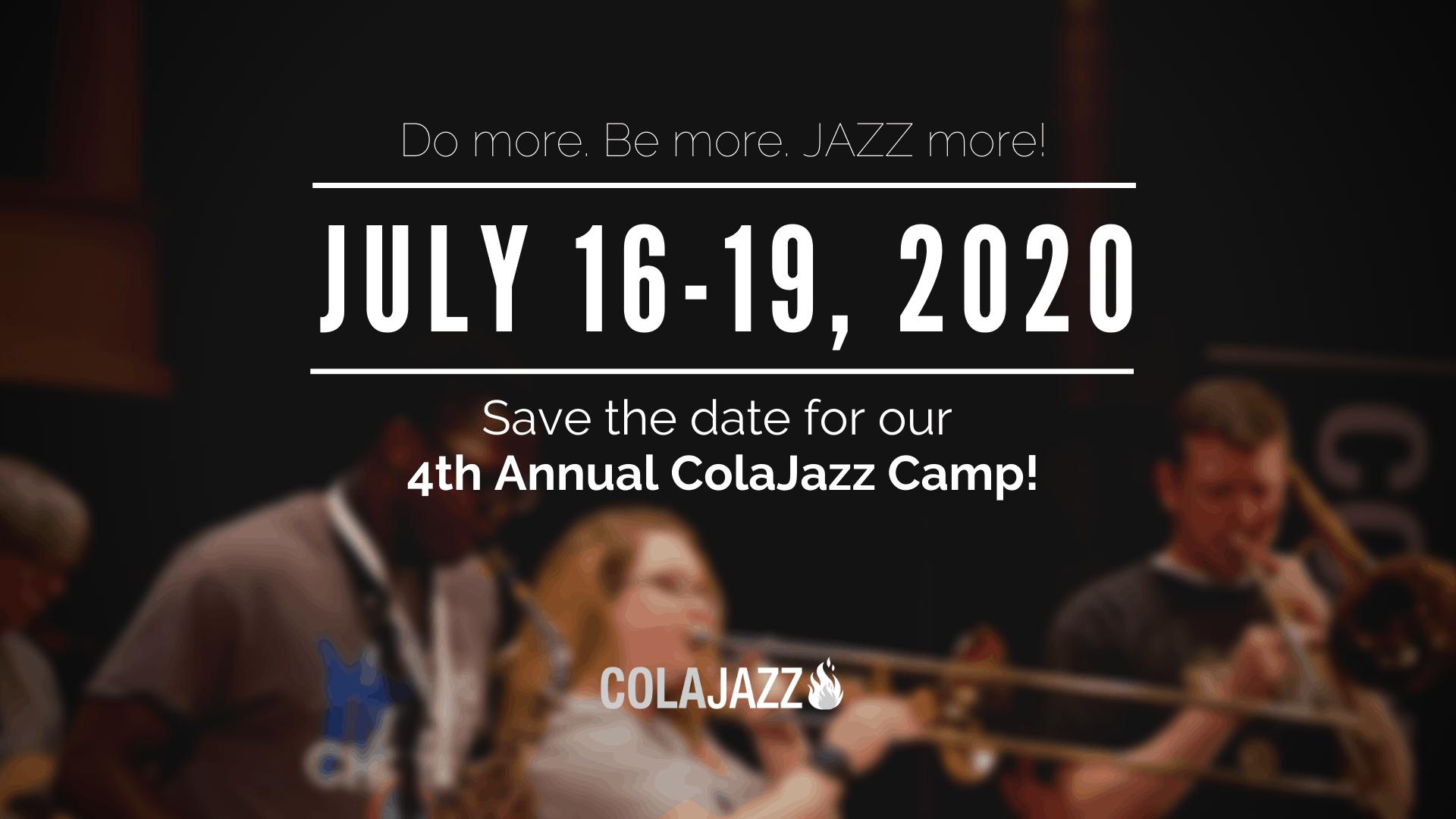 ColaJazz Summer Camp 2020