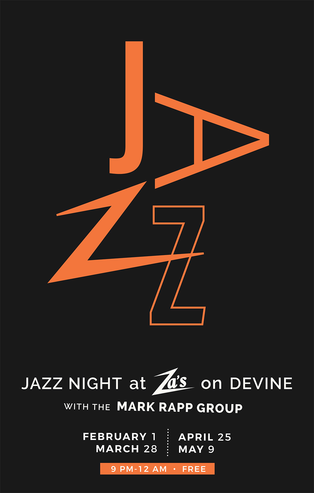 Mark Rapp Jazz Night at Za's