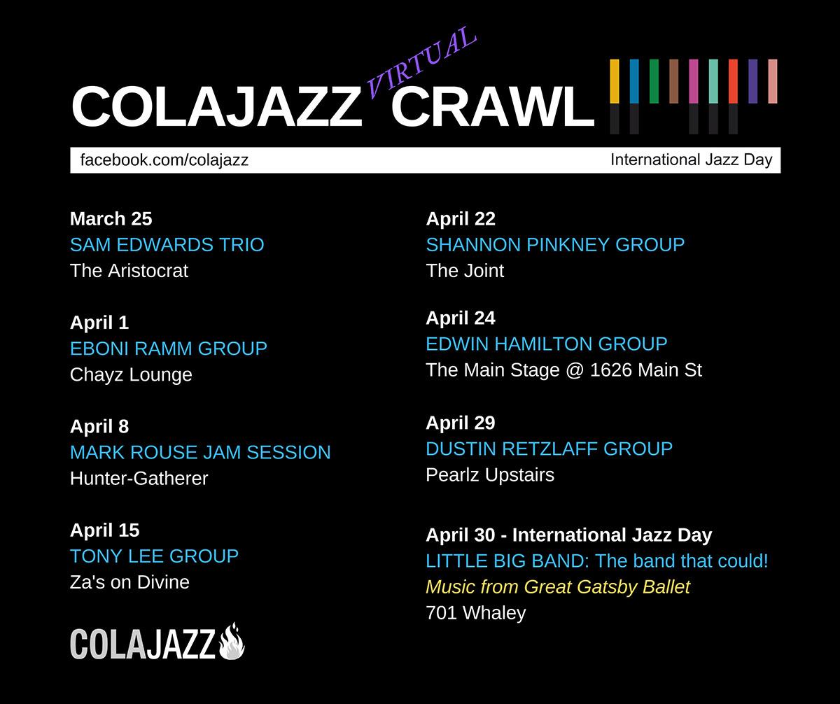 ColaJazz Crawl