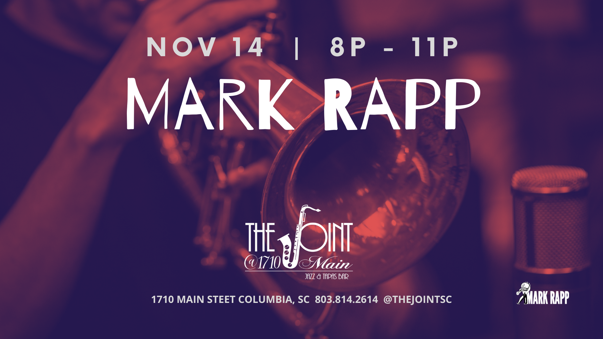 Mark Rapp at The Joint
