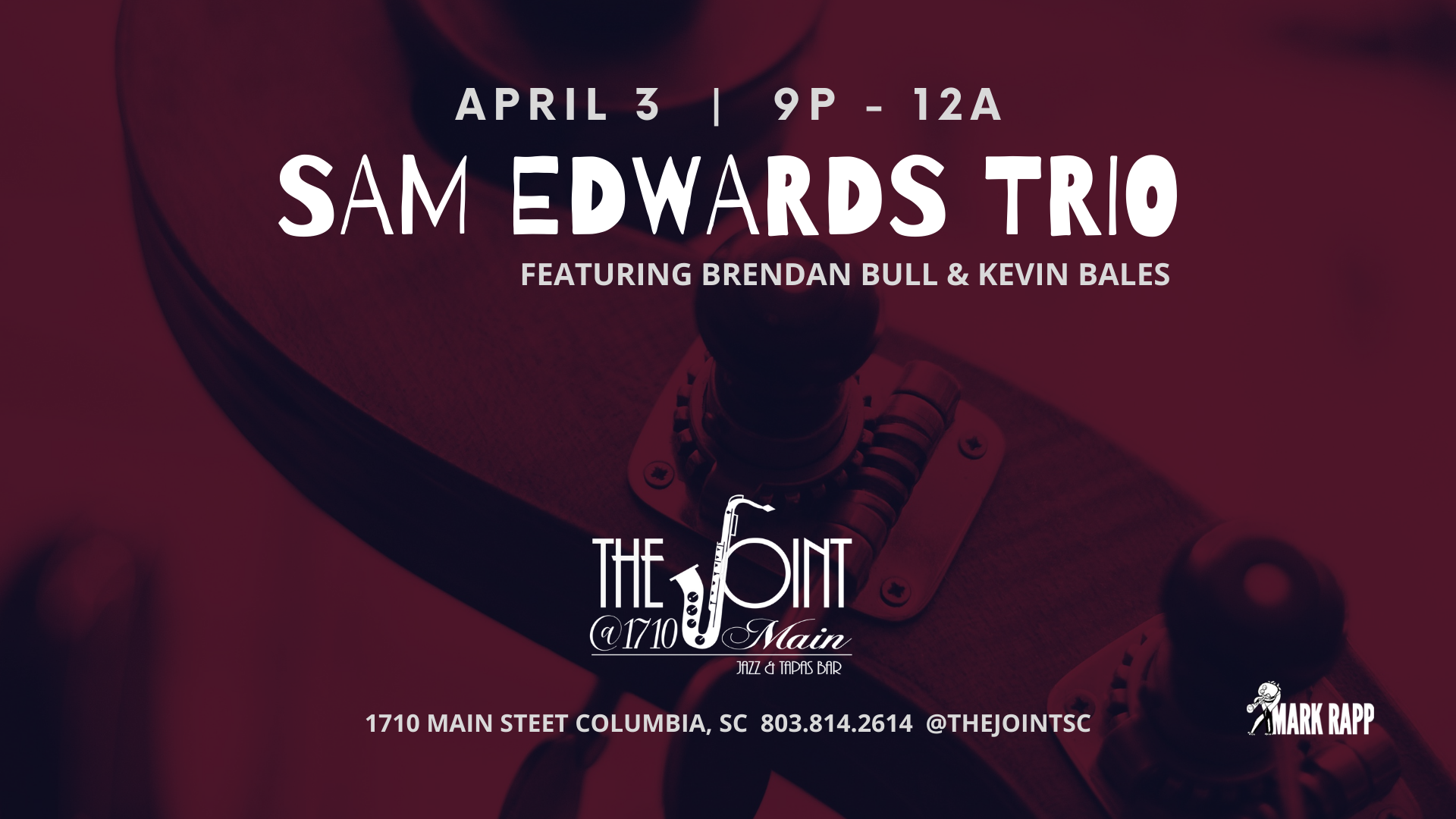 Sam Edwards The Joint Saturday